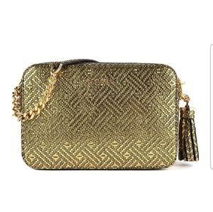 MK Gold Ginny Tassle Bag